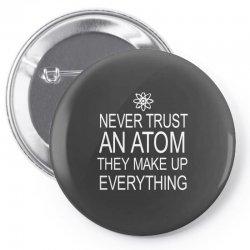 an atom Pin-back button | Artistshot
