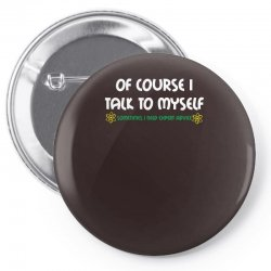 geek expert advice   science   physics   nerd t shirt Pin-back button | Artistshot