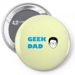 geek dad Pin-back button | Artistshot