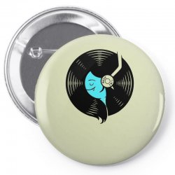 music time Pin-back button | Artistshot