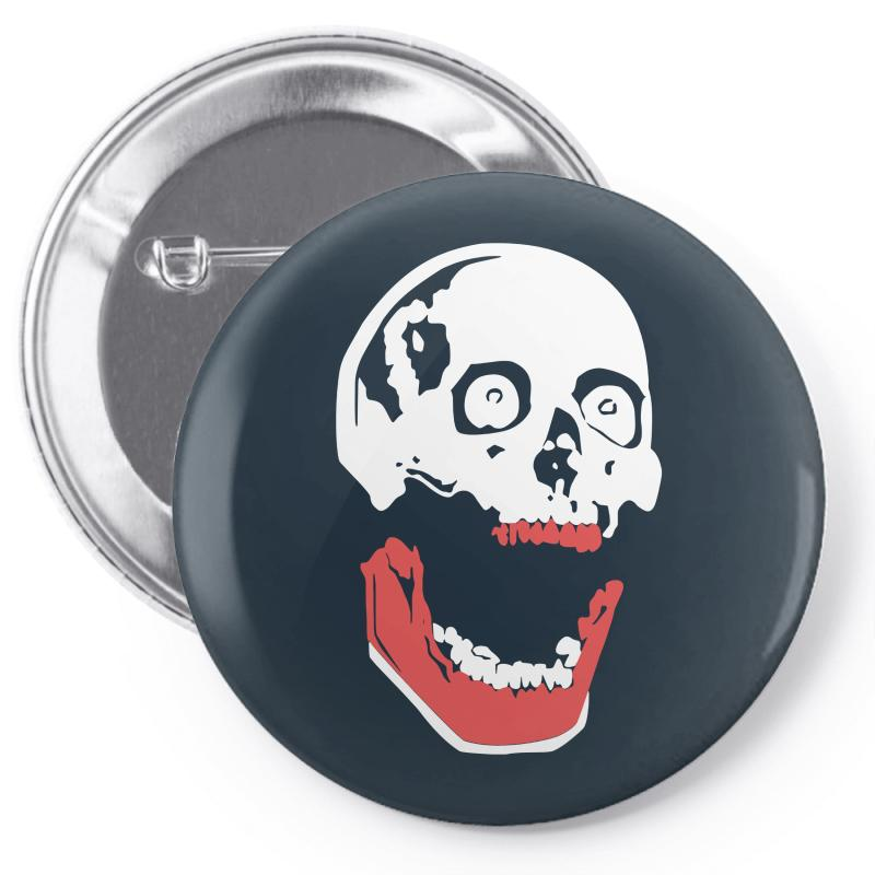 2a92cd94c0b00 Custom Happy Halloween Funny Pin-back Button By Mdk Art - Artistshot