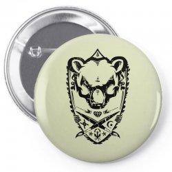 wild bear Pin-back button | Artistshot
