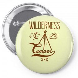 wilderness camper Pin-back button | Artistshot