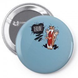 Angry Boss Screaming Deadline Pin-back button | Artistshot