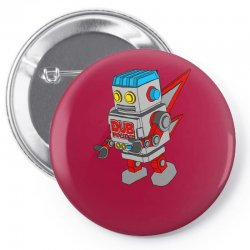 dub politics bot Pin-back button | Artistshot