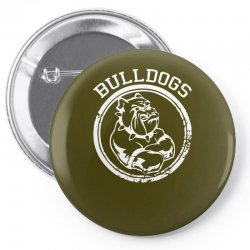 Bulldog Sports Team Pin-back button | Artistshot