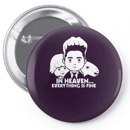 Saturday Morning Eraserhead Pin-back Button Designed By Specstore