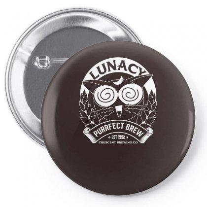 Lunacy Pin-back Button Designed By Specstore