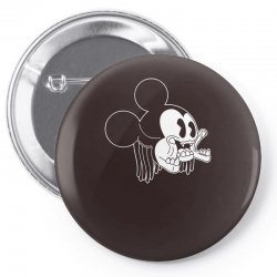 Icky Mouse Pin-back button   Artistshot