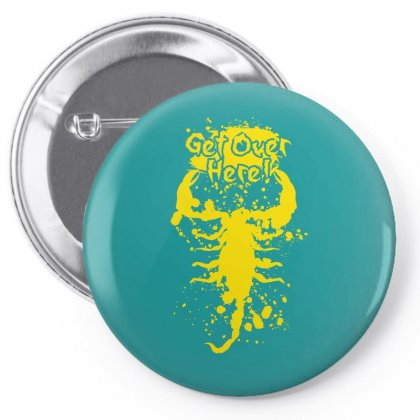 Get Over Here Pin-back Button Designed By Specstore