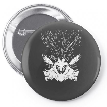 Forest Spirit Pin-back Button Designed By Specstore