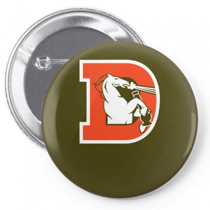 Denver Bongcos Pin-back Button Designed By Specstore