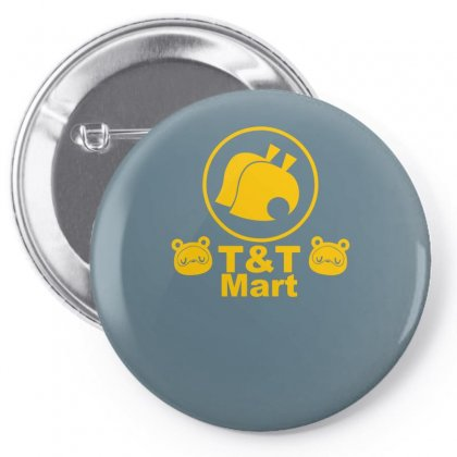 Animal Crossing T And T Mart Pin-back Button Designed By Specstore