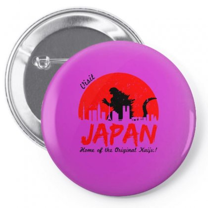 Visit Japan Pin-back Button Designed By Specstore