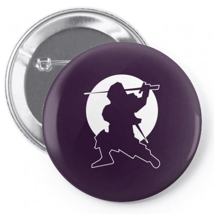 The Ninja Pin-back Button Designed By Specstore