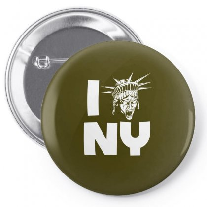 The Angels Love Ny Pin-back Button Designed By Specstore