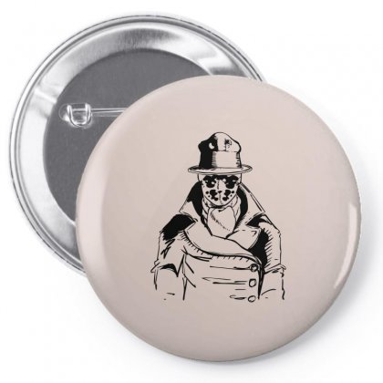 Rorschach Pin-back Button Designed By Specstore