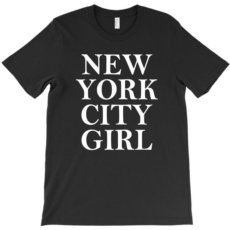 New York City Girl T-shirt   Artistshot
