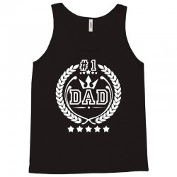 #1 Dad Tank Top | Artistshot