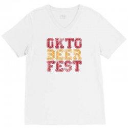 OktoBeerFest V-Neck Tee | Artistshot