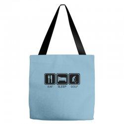 eat,sleep,golf Tote Bags | Artistshot