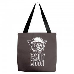 Family Trip To Moon Tote Bags | Artistshot
