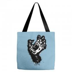 screaming hand werewolf Tote Bags | Artistshot