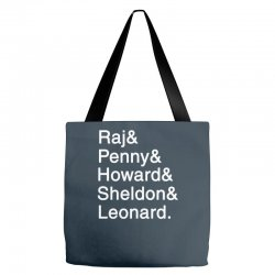 big theory list Tote Bags | Artistshot