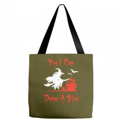 yes i can drive a stick funny Tote Bags   Artistshot