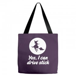 yes, i can drive stick Tote Bags | Artistshot