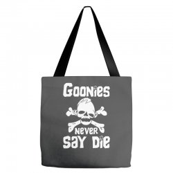 GOONIES NEVER Say DIE Tote Bags | Artistshot