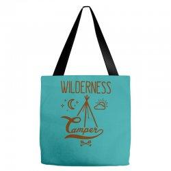 wilderness camper Tote Bags | Artistshot