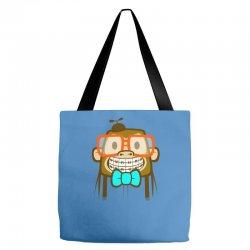 geek monkey Tote Bags | Artistshot