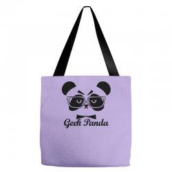 Geek Panda Tote Bags | Artistshot