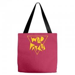 Wild Pitch Tote Bags | Artistshot