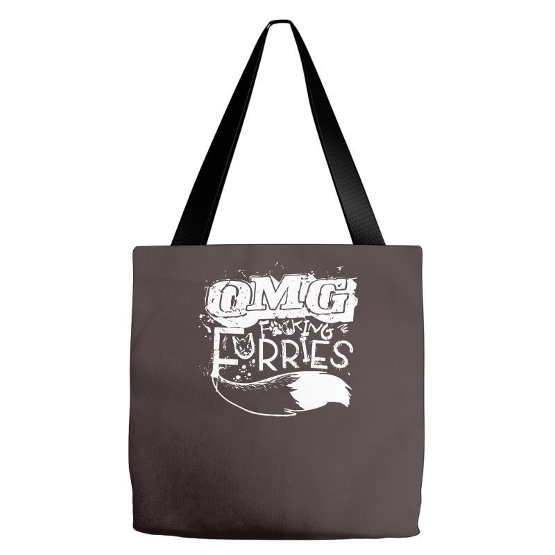 Omg Fucking Furries Tote Bags   Artistshot