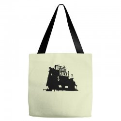 Who's That Shack Tote Bags | Artistshot