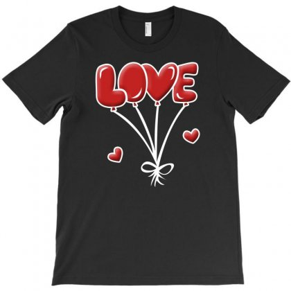 Love Balon T-shirt Designed By Megaagustina