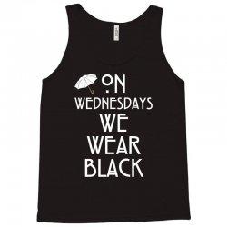 On Wednesdays We Wear Black Tank Top | Artistshot