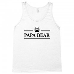 Papa Bear Tank Top | Artistshot