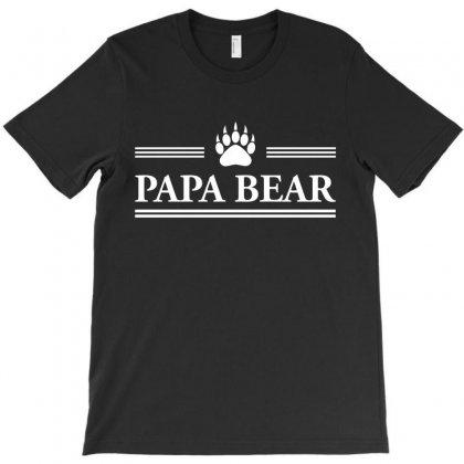 Papa Bear T-shirt Designed By Tshiart