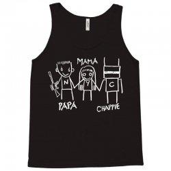 Papa Mama Chappie Tank Top | Artistshot