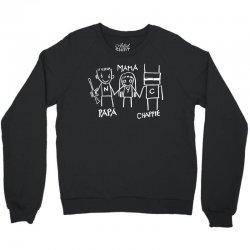 Papa Mama Chappie Crewneck Sweatshirt | Artistshot