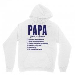 Papa Noun Definition Unisex Hoodie   Artistshot