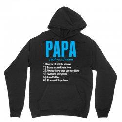 Papa Noun Definition Unisex Hoodie | Artistshot