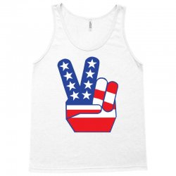 Peace Sign Hand Tank Top | Artistshot