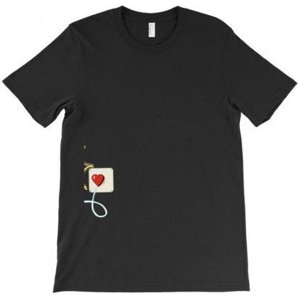 Electrical Plug & Light Bulb Couples Design T-shirt Designed By Tshiart
