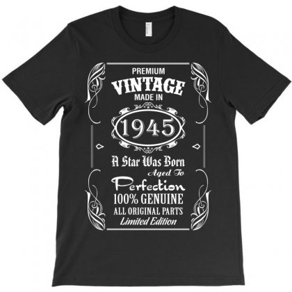 Premium Vintage Made In 1945 T-shirt Designed By Tshiart