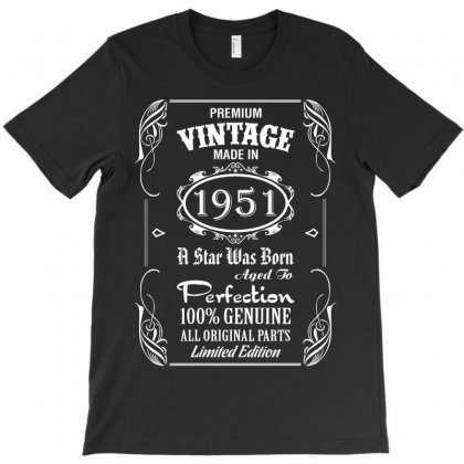 Premium Vintage Made In 1951 T-shirt Designed By Tshiart