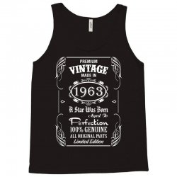 Premium Vintage Made In 1963 Tank Top | Artistshot
